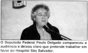 Deputado Federal Paulo Delgado